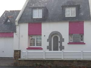 ravalement façade maison guilers